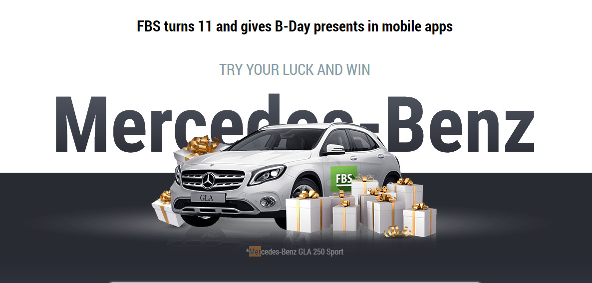 FBS 11th Birthday Promotion - Win Mercedes-Benz
